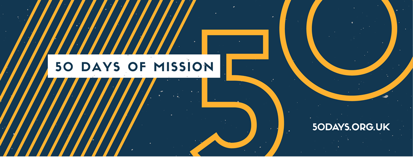 50 Days of Mission Header Branding