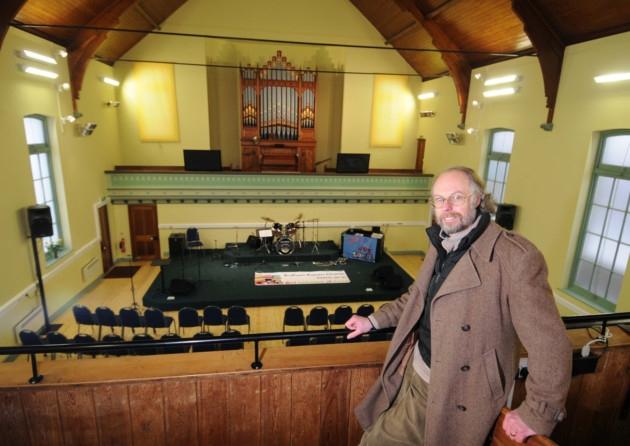 Stalham Baptist Church. Baptist minister, Rev Ron Skivington. Stalham Baptist Church. Baptist minister, Rev Ron Skivington.