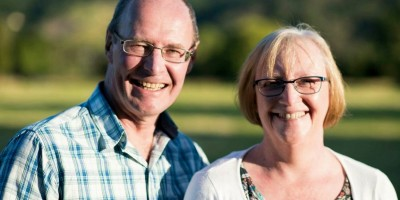 Beth Powney and Husband Stephen